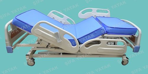 Full ABS 3 Motorlu Asansörlü Hasta Yatağı SYS-2600-1