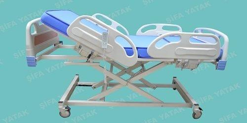 Full ABS 3 Motorlu Asansörlü Hasta Yatağı SYS-2600