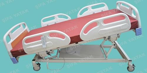 Full ABS 4 Motorlu Asansörlü Hasta Yatağı SYS-3000