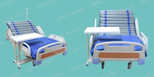 Full ABS Yatan Hasta Yatağı SET-2