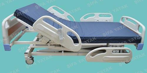 Full ABS 3 Motorlu Asansörlü Hasta Yatağı SYK-500