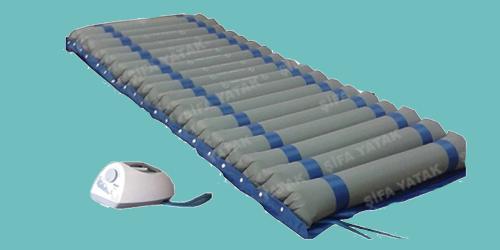 (A+B 12cm) Ventilasyonlu, Kılıflı Havalı Yatak HY-900