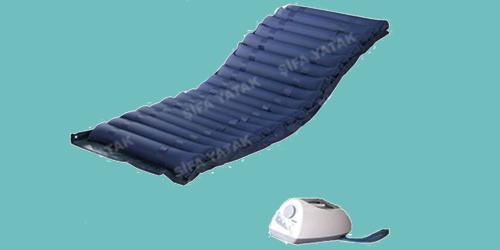 (A+B 8cm) Ventilasyonlu,Kılıflı Havalı Yatak HY-700