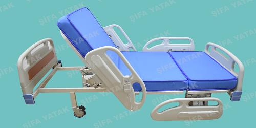 Full ABS 2 Motorlu Hasta Yatağı SYS-3250