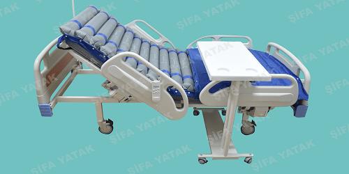 Kiralık Full ABS Yatan Hasta Yatağı SET-2